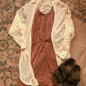 Urban Outfitters Lace cardigan